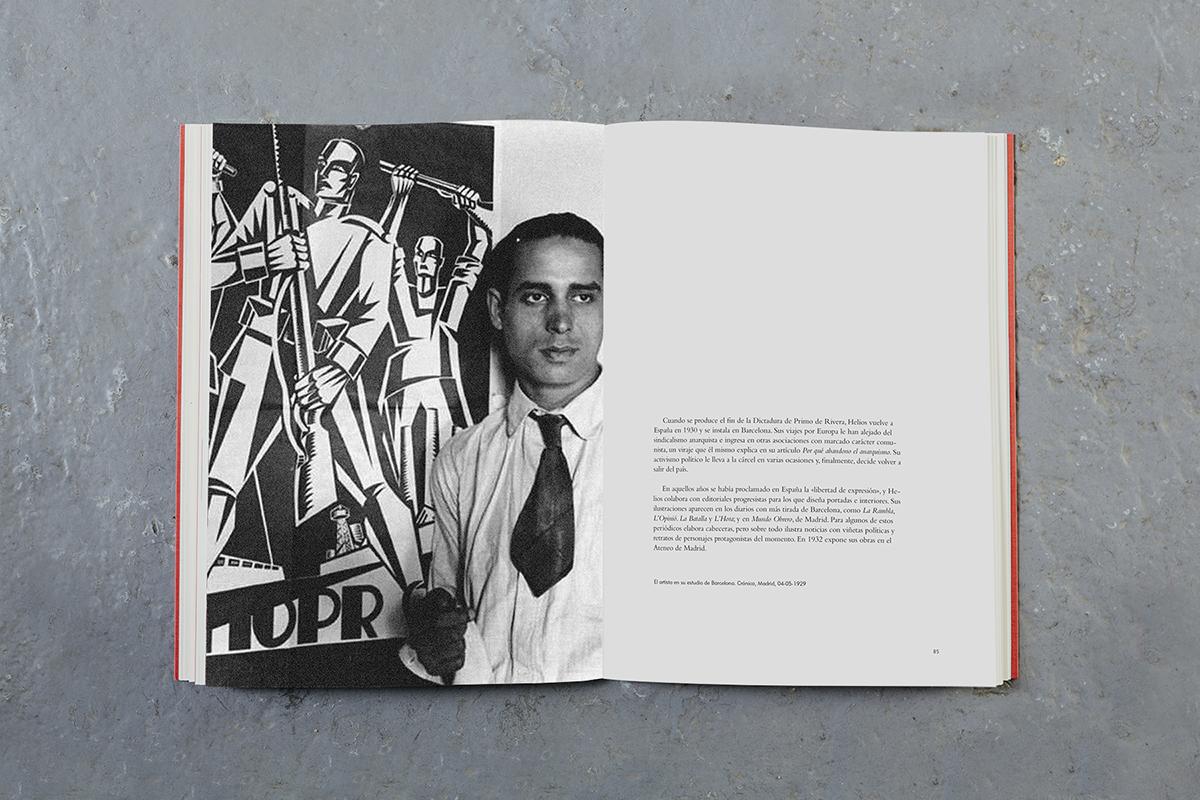 Libro Helios Gómez. Fotografía del artista