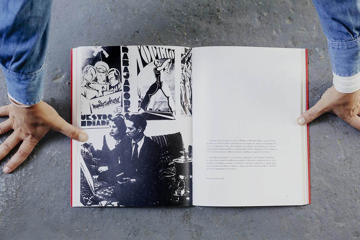 Libro Helios Gómez. Artista con su novia en Rusia
